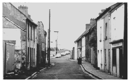 A section of Boat Street in Newry during the 1950's.