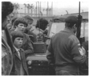 Newry gaels block the British Army from entering Pairc An Iuir in a search for arms and explosives in the 1970s.