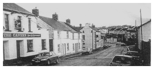 Historic Church St in Newry, looking towards the grotto.