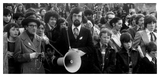 An Easter Commemoration in the 1970's.
