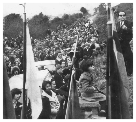 The Annual Edentubber commemoration in the 1970's.