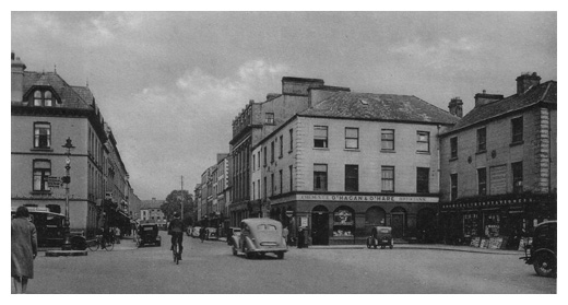 hill street newry in the 1940's