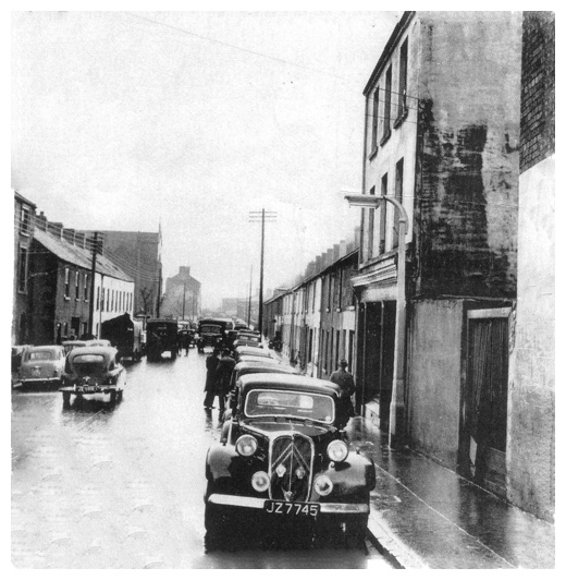 Mary street, Newry, in the 1940's.